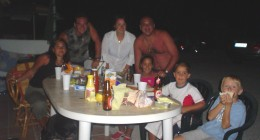 Juan Carlos, Maria, Andres, MariCarmen, Maria y Andresito